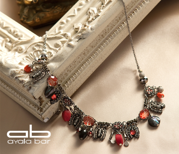 アヤラ・バーClassic Collectionネックレスシルバーベリー Silverberry