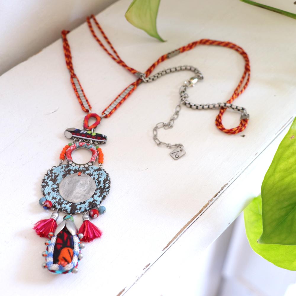AYALA BAR アヤラ・バー/Hip Collection ヒップコレクションロングネックレス Crimson Queen クリムゾンクイーン
