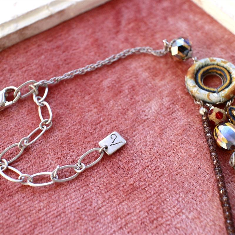 CC-JJ Summer Bohemian Love Heart Charm Beads