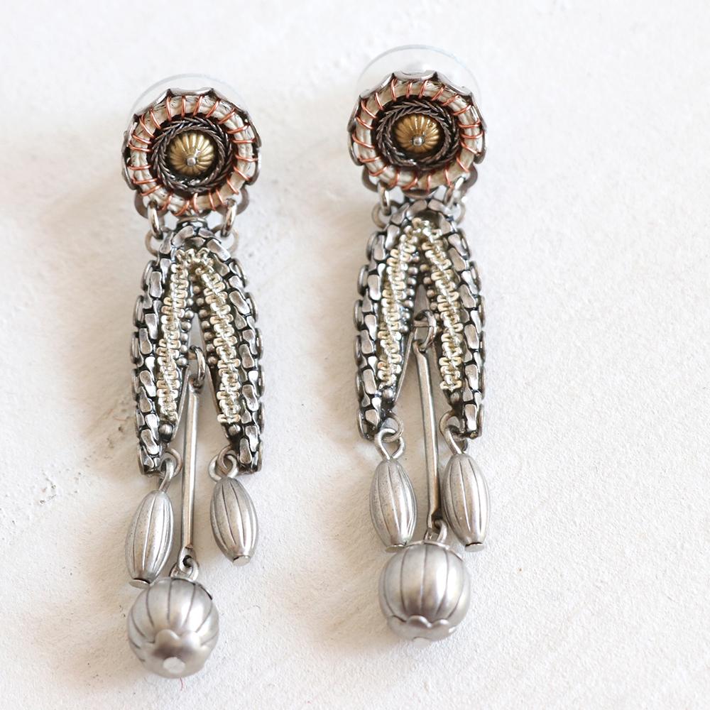 アヤラ・バー ピアス(スタッドピアス)インディゴコレクションAyala Bar Indigo Collection earring