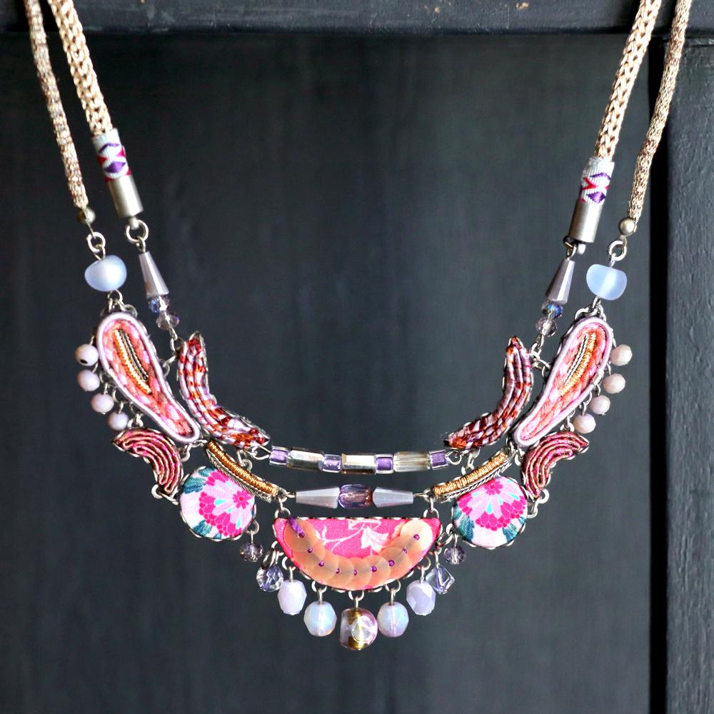 2連チェーンのネックレス/アヤラ・バー ヒップコレクションMorning Blossom Ayala Bar Hip collection