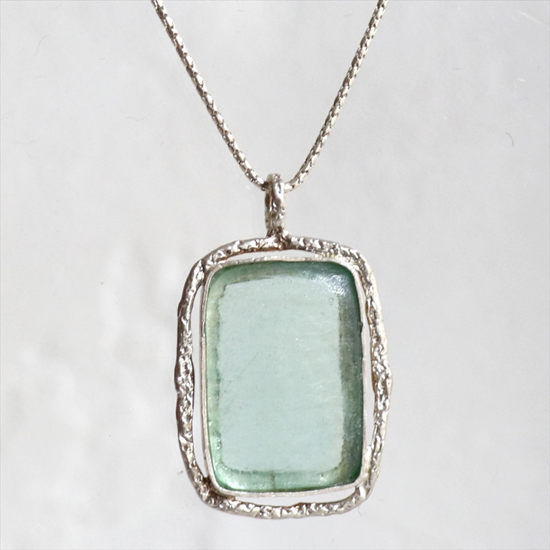 ローマンガラスカンパニー/ネックレス The Roman Glass Companyイスラエル出土古代ガラスとシルバー