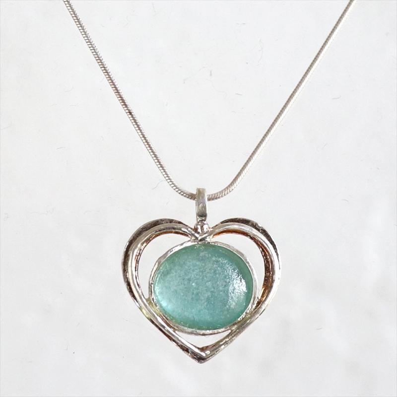 The Roman Glass Company ローマングラスカンパニーイスラエル出土古代ガラスとシルバーネックレス