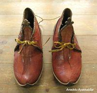 アナトリアン・フォークシューズ~19世紀の製法で作ったオリジナルの革靴・サイズ35