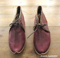 アナトリアン・フォークシューズ~19世紀の製法で作ったオリジナルの革靴・サイズ39