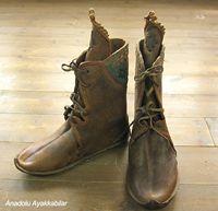 アナトリアン・フォークシューズ~19世紀の製法で作ったオリジナルの革靴・サイズ44