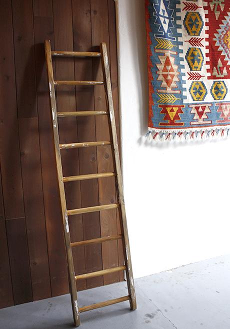 【正規品直輸入】 ラスティックディスプレイラダー・木製9段, ショウワチョウ 75e55010