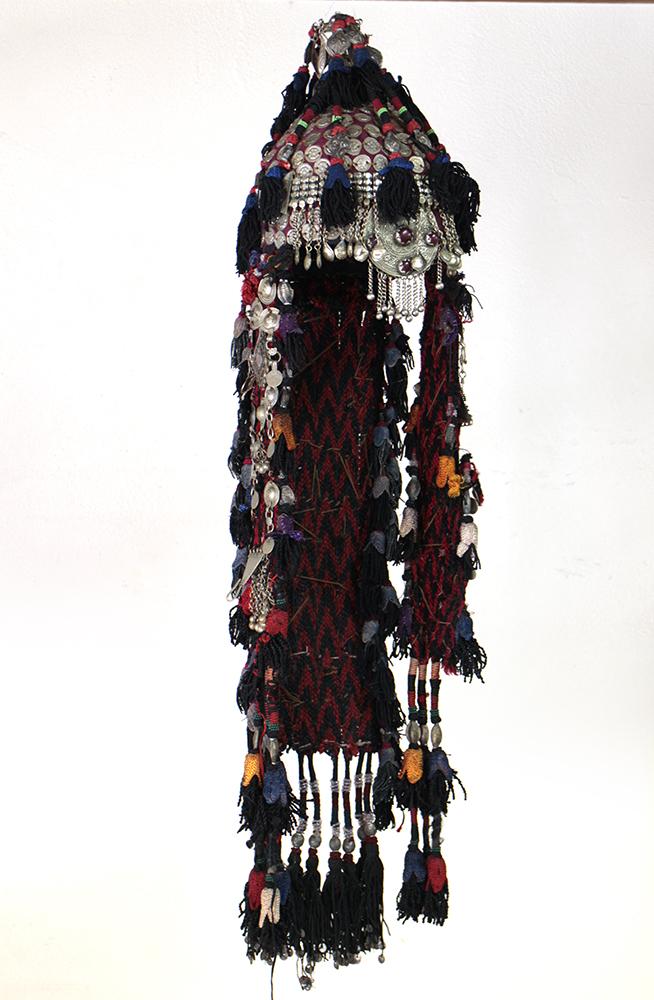 トルクメン女性用の頭飾りTurkmen Head Costume OUTLET・訳あり品