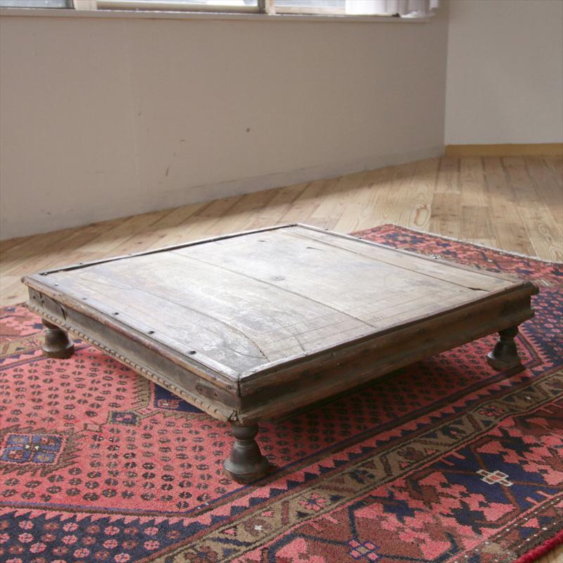 galatabazaar  Rakuten Global Market Antique Wooden Coffee Table