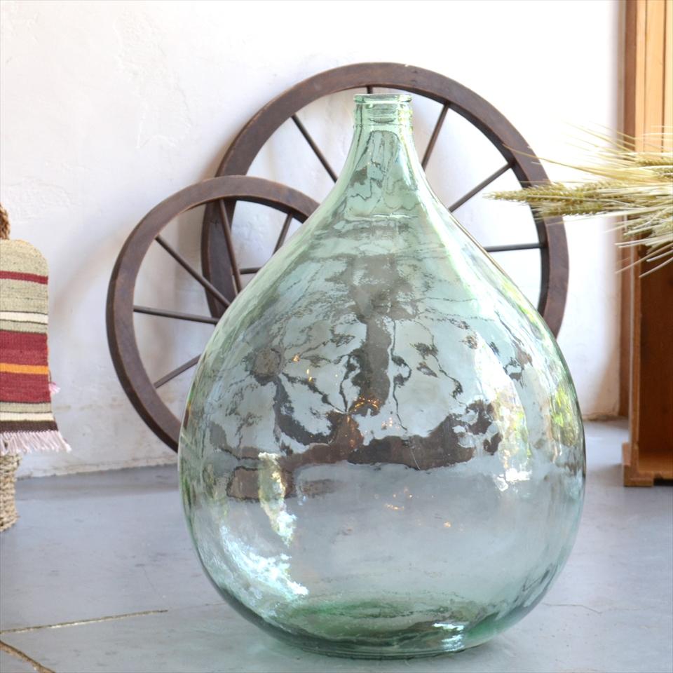 ガラスボトル テラリウムボトル フラワーベース 高さ54cm 直径42cm
