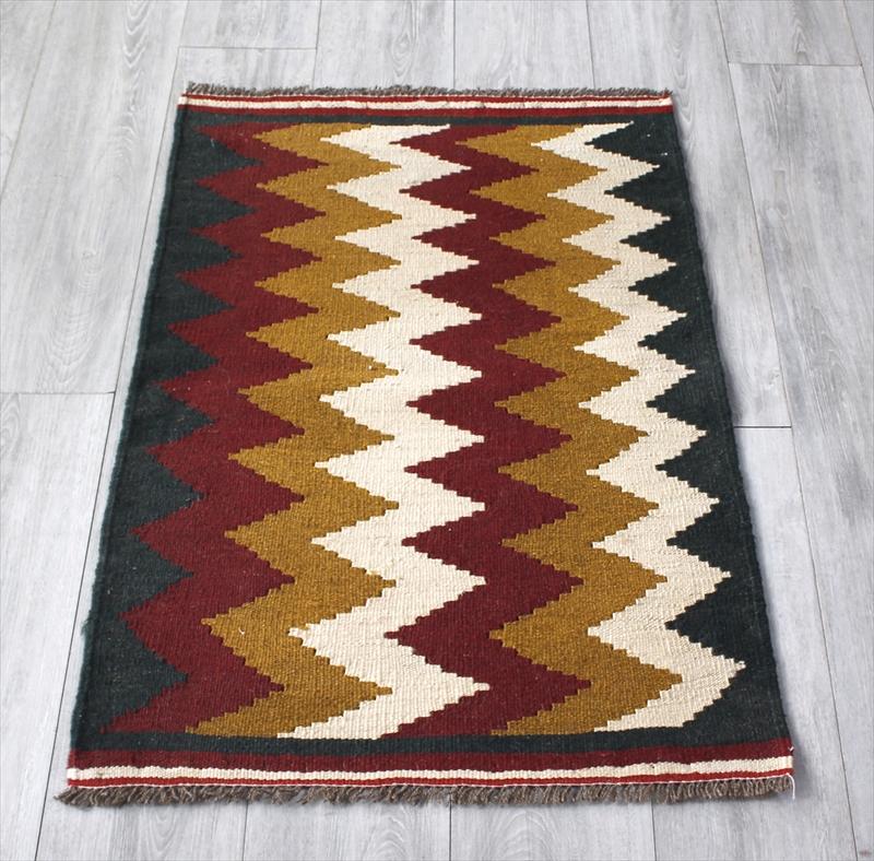 シラーズ・手織りキリム カシュカイ族・ヤストゥクサイズ98×65cm