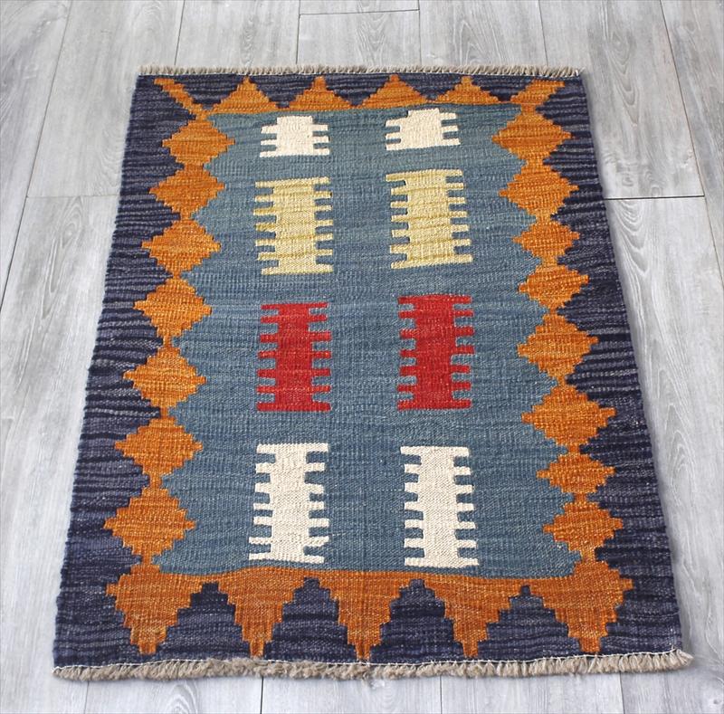 シラーズ・手織りキリム カシュカイ族・ヤストゥクサイズ92×65cm