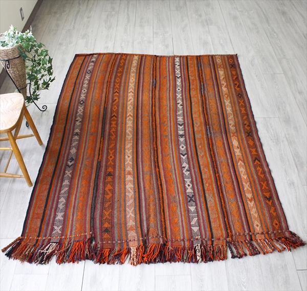 オールドキリム・シールトジャジム織りのカバー193×148cmセッジャーデサイズ