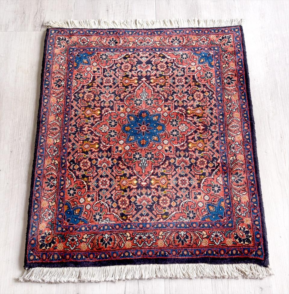 トライバルラグ・ペルシャ絨毯 ビジャール66×52cm Bidjar-Aroos-Baft