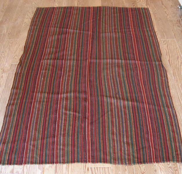東イラン・遊牧民のテント布ガジャリキリム イラン キリム 手織り 190×136cm