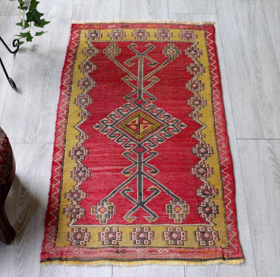 オールドキリム・コンヤ/ヤストゥク生命の樹・細かなスマック織り
