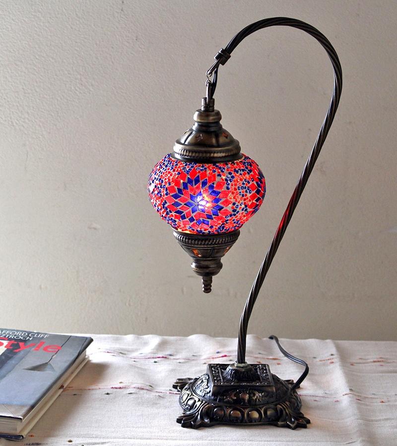 Hanging Table Lamp: GalataBazaar: Turkish Lamp / Mosaic Table Stands Lamp