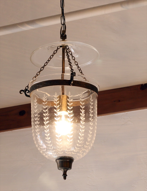 Colonial Style Gl Lamp Leaf