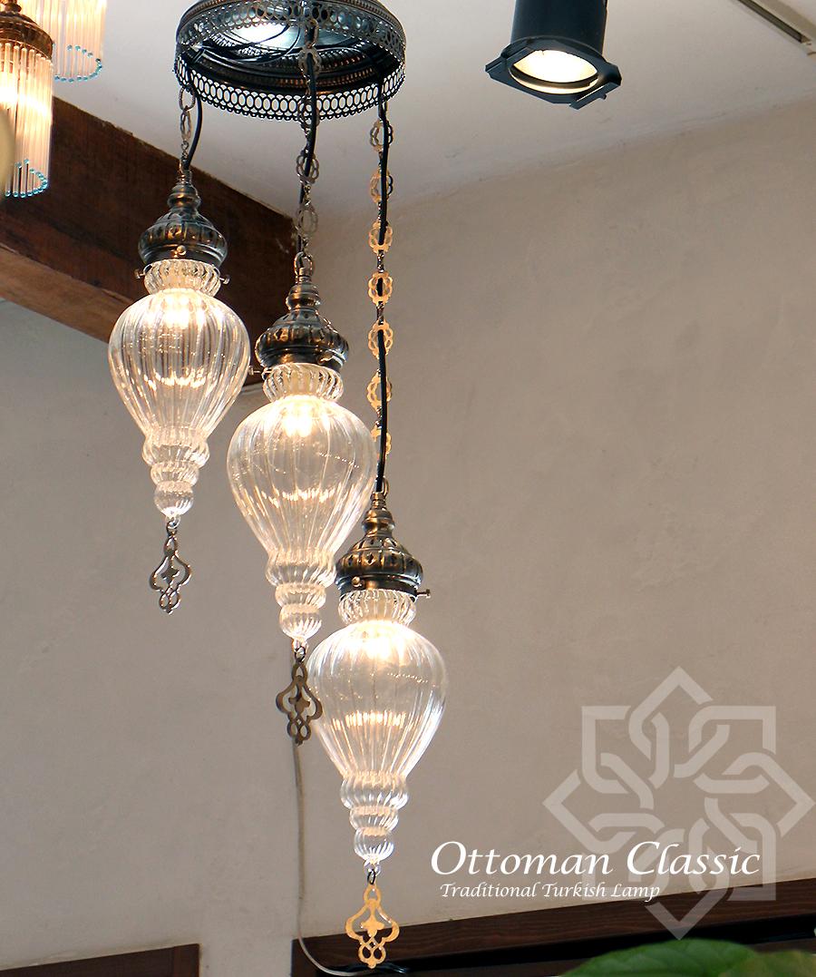 特別オファー オットマンクラシックガラスシェードランプ・シャンデリア3灯・ペンダントライト Turkish・ペンダントランプ/Ottoman Lamp Classic Traditional Turkish Lamp Traditional lphop09-3, カイヅグン:4b8f32cd --- konecti.dominiotemporario.com