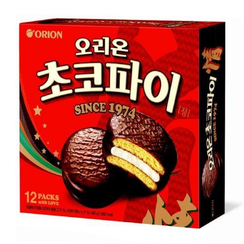 マシュマロ入りの優しい美味しさ 韓国 当店一番人気 チョコパイ 情 ジョン おやつ 12個入 韓国食品 お土産 お菓子 40%OFFの激安セール