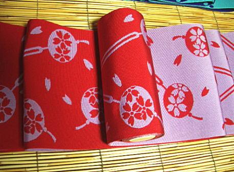 【6/4~6/10 ポイント最大5倍・100円クーポン】正絹 本場筑前博多織 半巾帯 かんざし