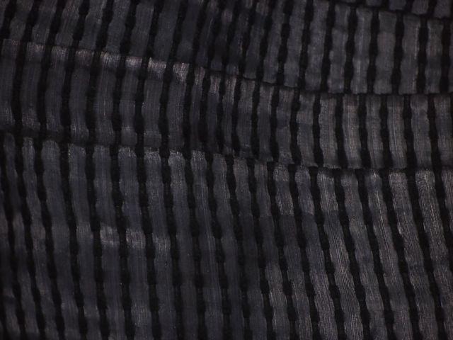 帯の誉田屋謹製 夏用角帯 芭蕉段織 黒【男性用】【誉田屋源兵衛】【バショウ】【夏祭り】【送料無料】【smtb-k】【ky】