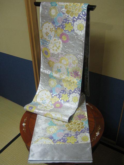 高島織物謹製袋帯 六通柄 あすか 春暖【smtb-k】【ky】