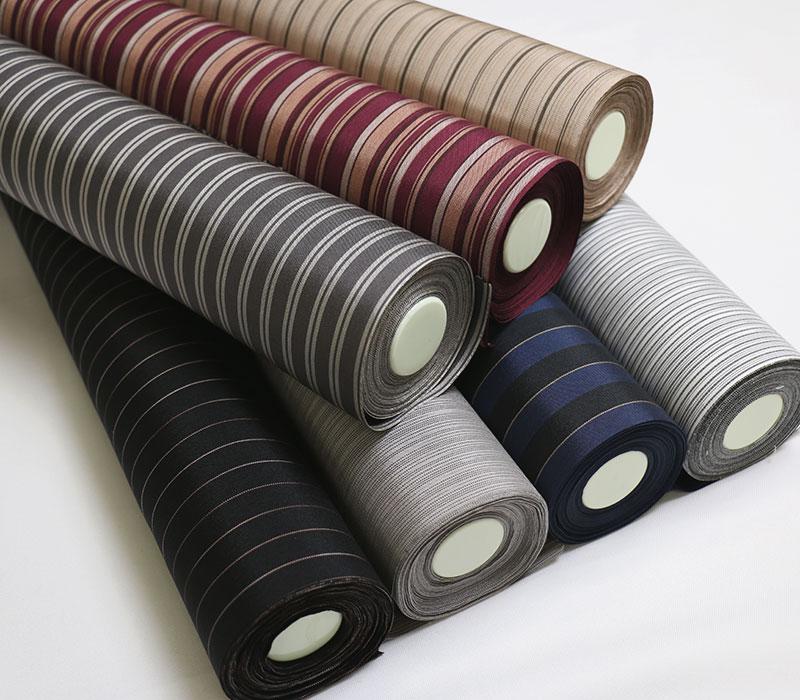 正絹の光沢縞着物 STRIPER【反物】ストライプ【Kimono Factory nono のの キモノファクトリーノノ】