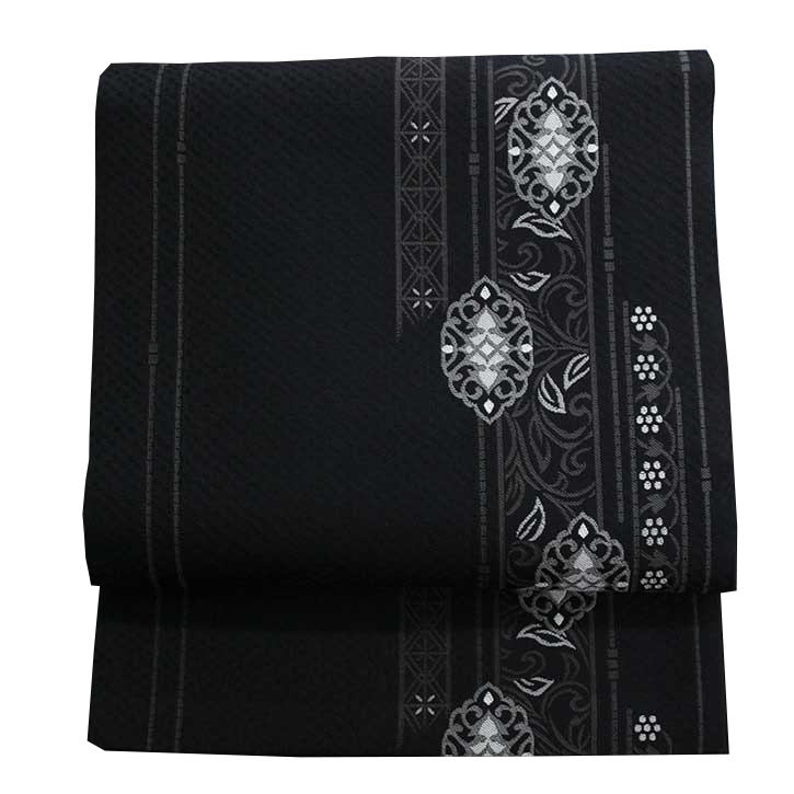 袋帯 華文献上 黒【Kimono Factory nono のの キモノファクトリーノノ】