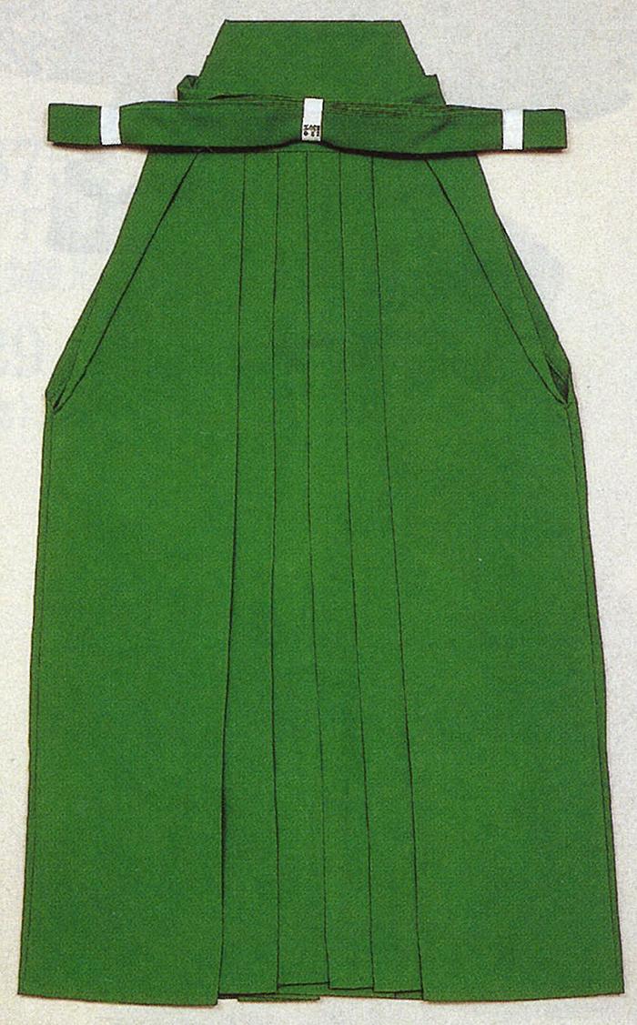 男物 踊り用 無地袴 緑 S・M・Lサイズ 【メンズ】【送料無料】