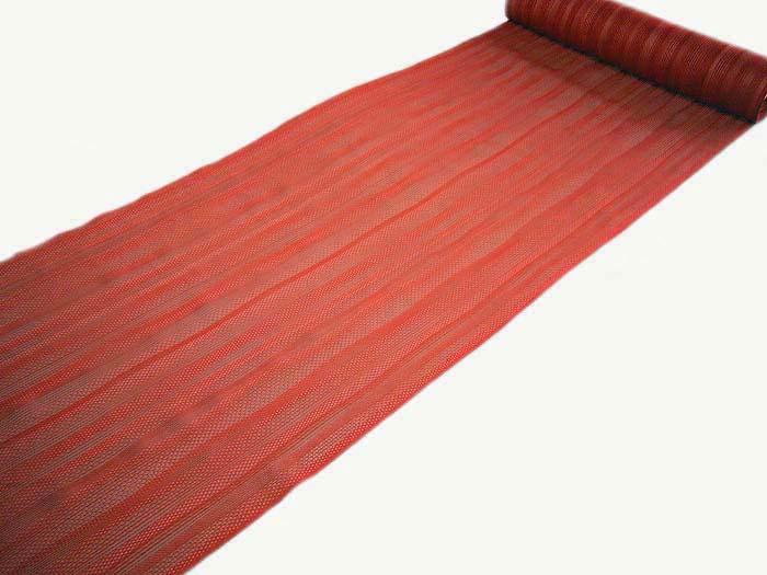 正絹 紗 夏 羽織 コート 変り織 反物 レース 塵除け(変り織り紗羽尺)