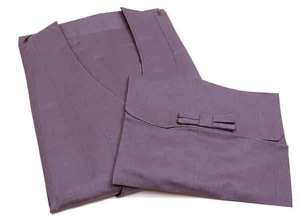 【和装用雨コート・レインコート】≪ワンピースタイプ≫~渋紫色《M・Lサイズ》