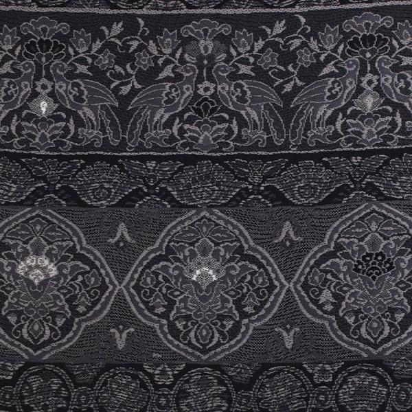 名古屋帯 正絹 西陣織 木原織物謹製 仕立て付き 九寸 なごや帯 六通 横段 双鳥 花 証紙付き 女性 レディース 着物 和装 和服 新品 日本製  wgフニ
