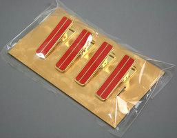 (人気激安) お得クーポン発行中 着付けの必需品 着物ハンディクリップ 真鍮 セール割引対象外 wg103 ☆4本組~着付け便利グッズ