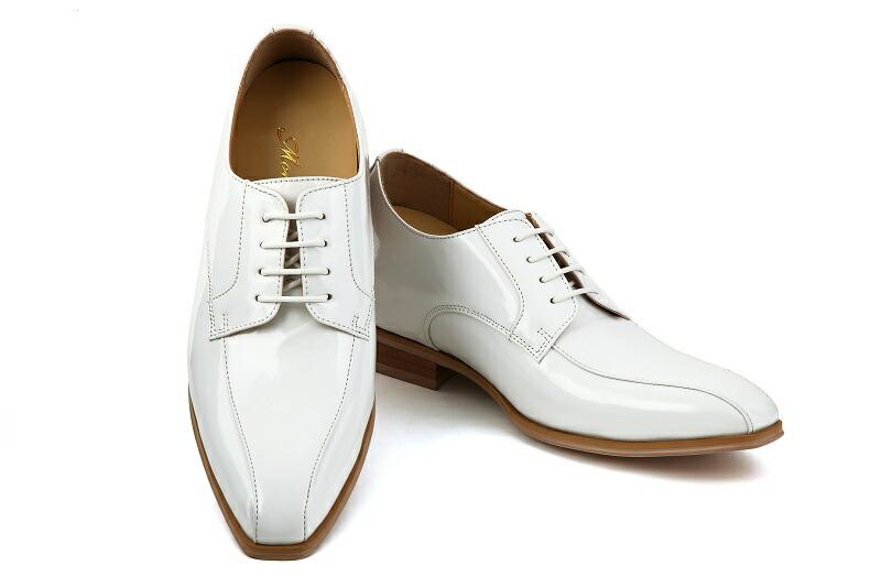 【販売】【タキシード】【ブライダルシューズ】【結婚式】【白い靴】【シークレットシューズ】【ホワイト】【フォーマルシューズ】(メンズシューズ)