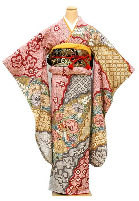 【クーポン】【レンタル】振袖 レンタル 成人式 着物 セット 【絞り】【総絞り】(成人式)(およばれ)(結納)29