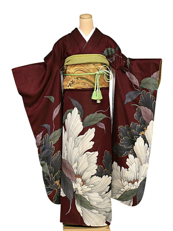 【クーポン】【レンタル】振袖 レンタル 成人式 着物 セット (およばれ)(結納)64