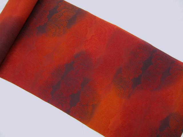 ワナビロード風羽尺絹100%