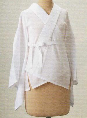 日本製【夏用】二部式半襦袢 小千谷縮半衿付き ひんやりLINEシリーズ Мサイズ ママ割