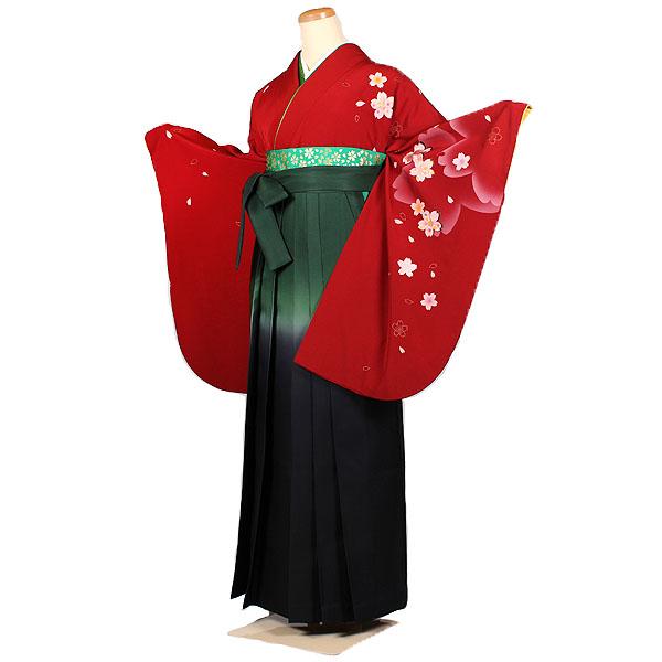 女性用袴・赤色系