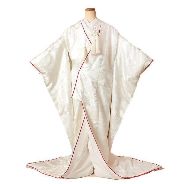 【レンタル】【白無垢・紋付フルセット〔赤こぶき仕立て白無垢〕】白無垢|レンタル|結婚式|レンタル着物|フルセット|和装|貸衣装|紋付袴|花嫁衣装|和服|和婚|新郎|新婦|衣装レンタル|ブライダル|神前式|神社|安い|往復送料無料