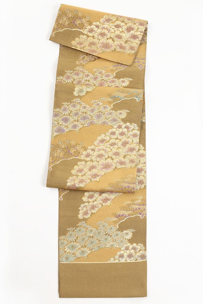 送料無料 あす楽 レディース 女性 フォーマル 新品 六通柄 西陣織 袋帯 帯 金 礼装 古典柄 金 正絹袋帯 fo-011