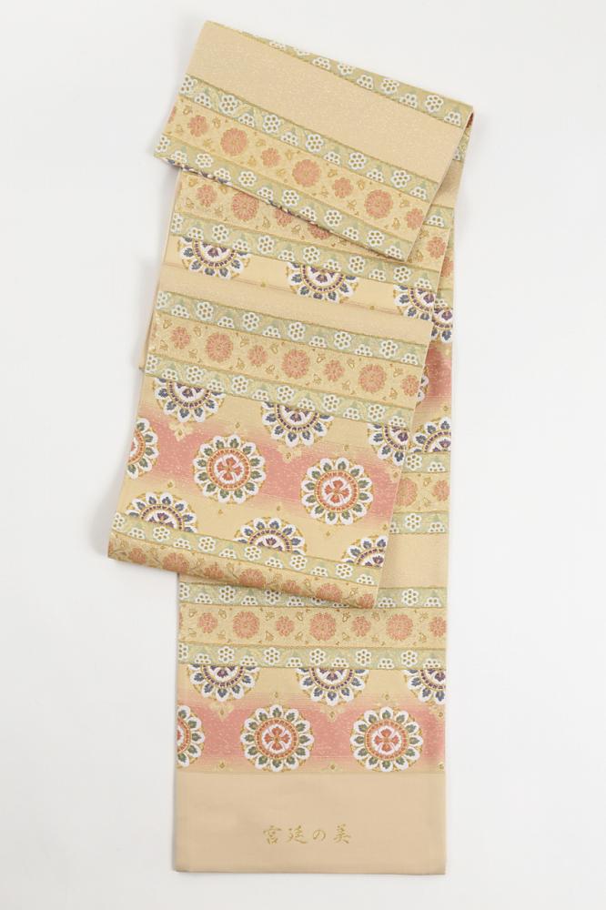 正絹袋帯(宮廷の美)fo-020