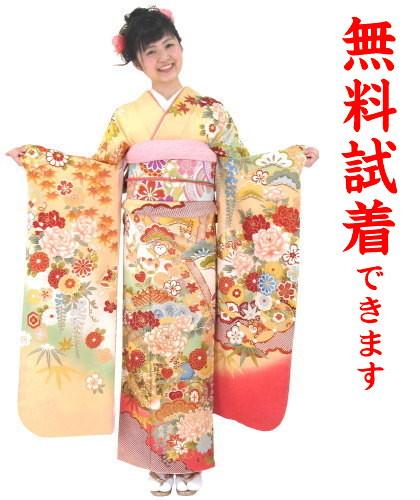 【レンタル】IKKO お振袖 L-459番 23点フルセットレンタル・往復送料無料・下見可能・髪飾り付き・ショール無料・成人式