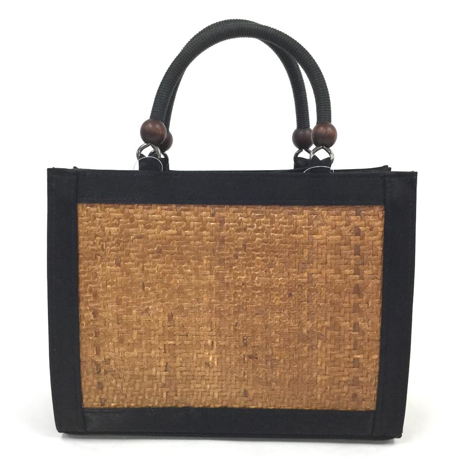 和装バッグ カジュアル 網代バッグ ブラック きものバッグ 網代 あじろ おしゃれ バッグ 和装 和服 着物 きもの キモノ 着物用バッグ 日本製 送料無料