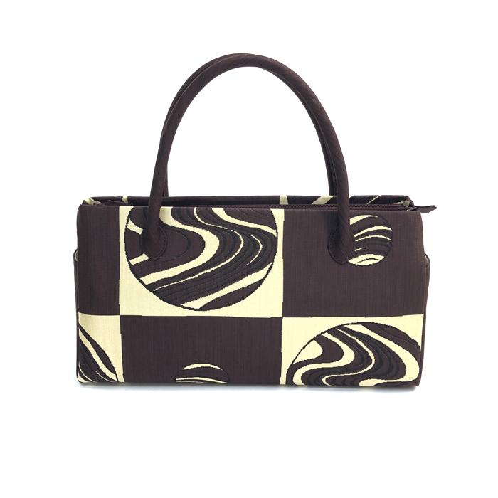 和装バッグ おしゃれ カジュアル 着物バッグ きものバッグ 帯地バッグ 高級 西陣帯地 日本製 シルク 和装 和服 着物 きもの キモノ kimono 送料無料 セール