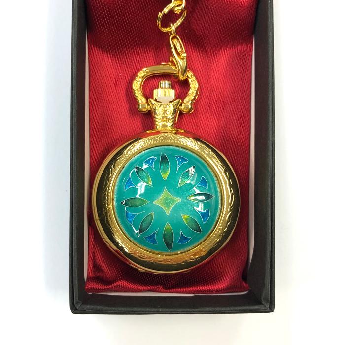 懐中時計 七宝焼き おしゃれ 時計 とけい 和装 和装時計 和装小物 送料無料 セール