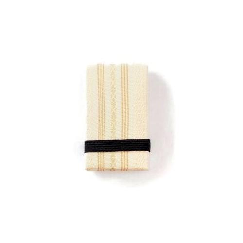 小さくて便利なエチケットグッズ 鏡付き楊枝入れ ミラー コンパクト エチケットグッズ 博多織 絹100% 日本製 博多織小物 卓抜 博多織雑貨 ベージュ きもの 和装 着物 ギフト 千本献上 プレゼント 正規激安 和服