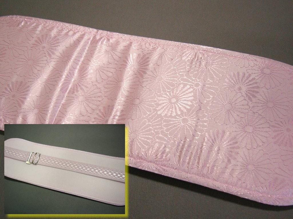 前板 初回限定 帯板 折れない ソフト前板 小 ゴムバンド付きピンク 和装小物 注文後の変更キャンセル返品 きもの板 着付け 振袖 留袖 帯 成人式 結婚式 喪服