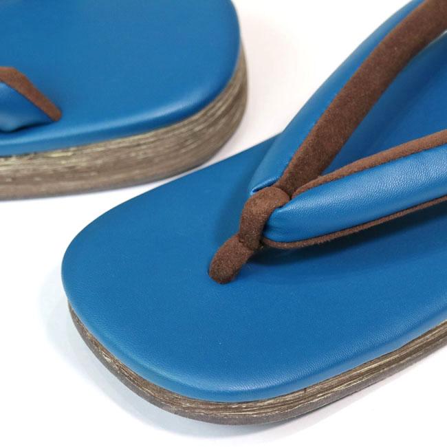 【メンズ雪駄 MS-20】雪駄 青 ブルー ブルー鼻緒 EVA .HAKU ドットはく 男性 メンズ 草履 軽い 滑りにくい カジュアル 着物 浴衣 オシャレ お洒落 疲れにくい Mサイズ Lサイズ